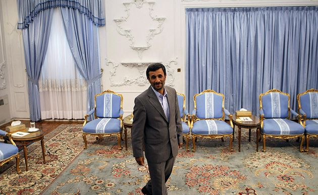 Strategic Value: Some Israeli officials and advocates have argued that current Iranian president Mahmoud Ahmedinejad, above, better suits Israel?s strategic goals than his reformist rivals because he better represents the malevolent threat Iran poses.