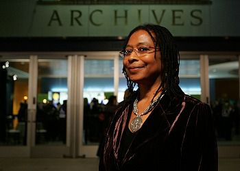 Pulitzer Prize-winning author Alice Walker.