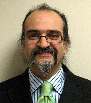 Advocacy: Ghaith Al-Omari, a leading Palestinian voice.
