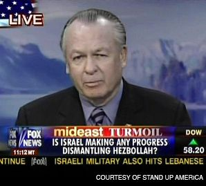 FIGHTING: Retired U.S. General Paul Vallely, above, has helped push the cause of Israeli politician Shaul Mofaz.