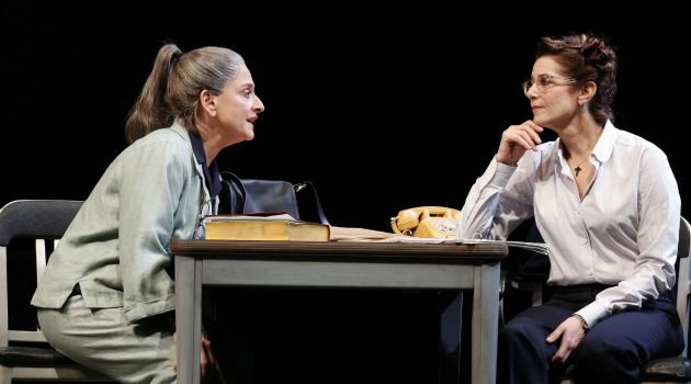 A Death in the Theater: Patti LuPone and Debra Winger butt heads in the recently closed production of David Mamet?s ?The Anarchist.?