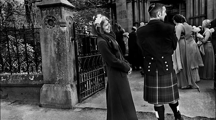 Top and Tails: A wedding isn't complete without a kilt and a kippah.