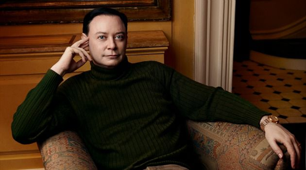 Solomon-Like Pose: The author Andrew Solomon was born into a Jewish family that struggled to accept his sexual identity.
