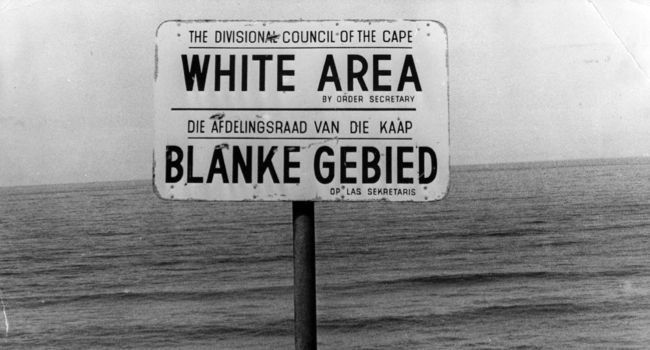 Separation: What defined 'apartheid' as it was applied in South Africa?
