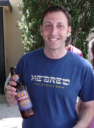 Kosher Ale: Jeremy Cowan started the now 14-year-old Shmaltz Brewing Company.