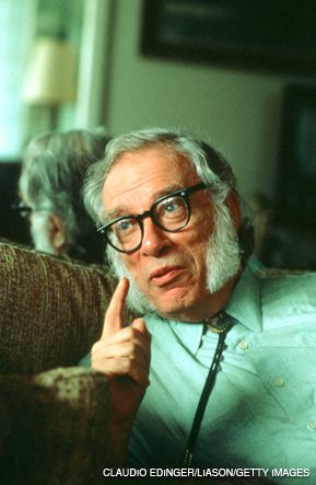 I, ASIMOV: Ol? Mutton Chops is back.