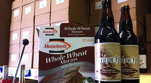 Passover Leftovers: Ambacht Brewery in Hillsboro, Oregon, makes beer made from leftover matzo.