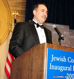 VICTORY LAP: Senior presidential aide David Axelrod exulted in exit poll results showing that 78% of Jews voted for Obama.