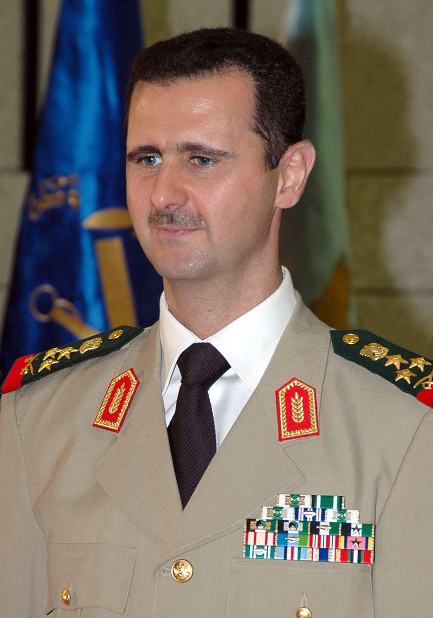 Al-Assad in 2004