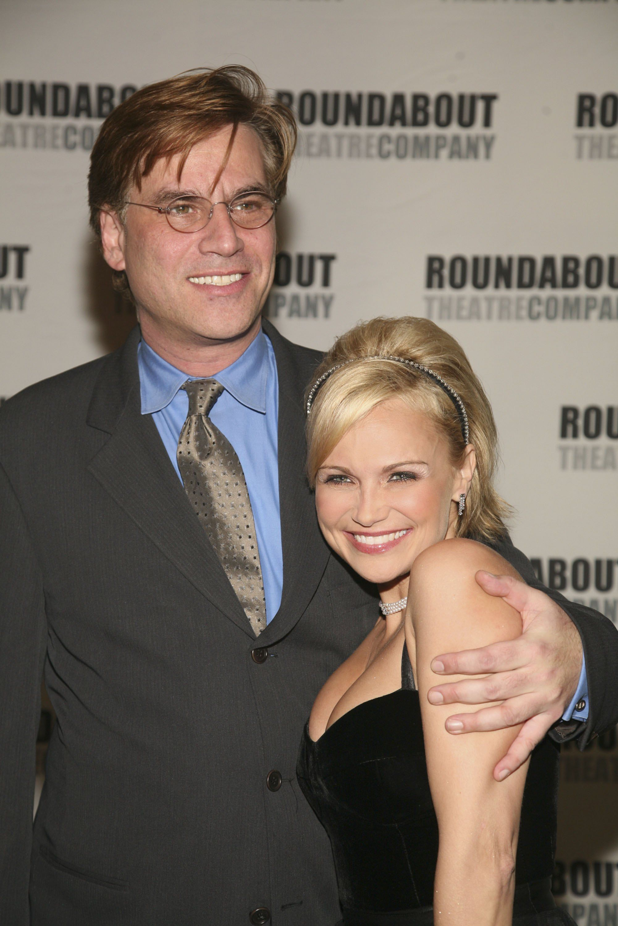Chenoweth with Sorkin in 2006