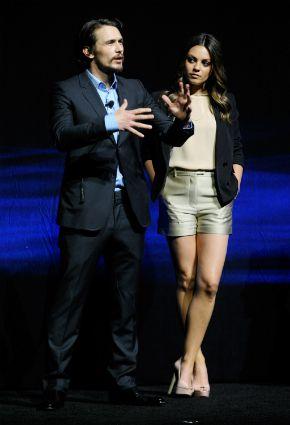 Franco and Kunis in April
