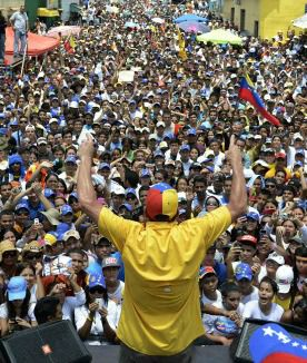 Uphill Fight: Venezuelans are voting for a new president amid a surge of emotion around the death of Hugo Chavez.