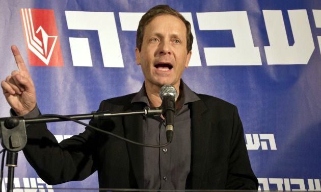 Zionist Union chief Isaac Herzog