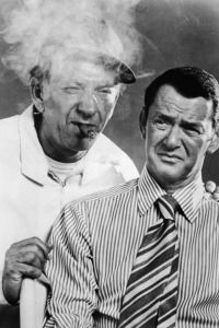 Jack Klugman and Tony Randall in ?The Odd Couple.?