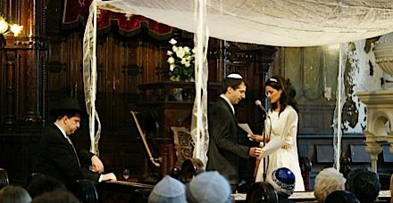 *The Politics of the Chuppah: A progressive, pro-marriage agenda ? for both heterosexual and same-sex couples ? should be framed as a communal and moral responsibility.
