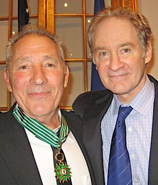 Dream Come True: Israel Horovitz (left) and Kevin Kline