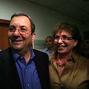 Ehud Barak and Nili Priel-Barak