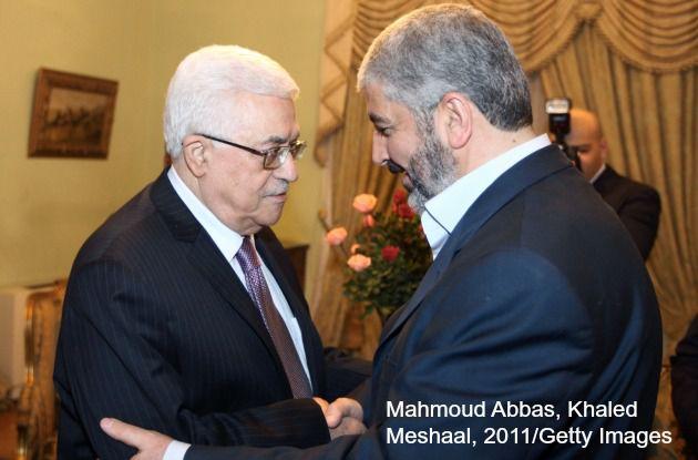 Mahmoud Abbas, Khaled Meshaal, 2011