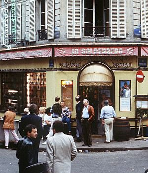 Terror in the Jewish Quarter: Onlookers gather after a terrorist attack killed six people at a Jewish deli in Paris in 1982.