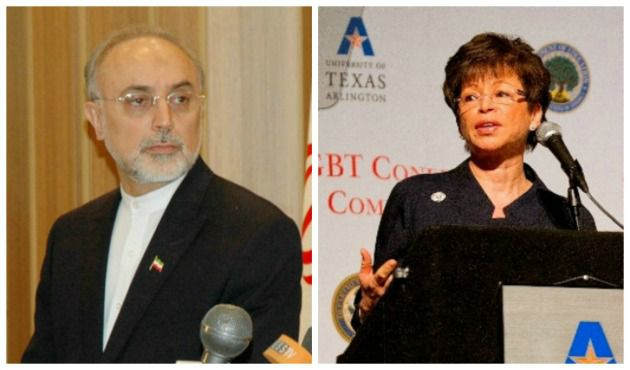 Secret chats? Ali Akbar Salehi, Valerie Jarrett