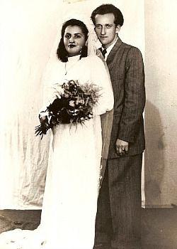 Rachel Rosmarin?s grandparents in Chelyabinsk, 1946