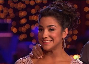 Aly Raisman on the latest episode of ?Dancing with the Stars?