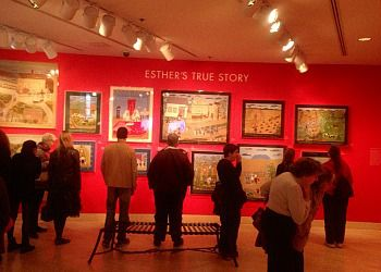 The Esther Nisenthal Krinitz art exhibit at the American Visionary Art Museum in Baltimore, Maryland.