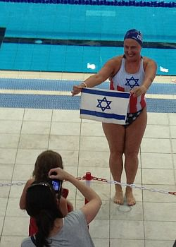 Maccabiah gold medalist Jane Katz