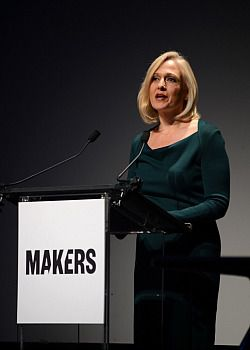 President and CEO, PBS Paula A. Kerger attends the red carpet premiere of MAKERS: Women Who Make America.