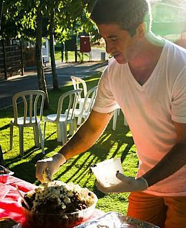 Michael Solomonov puts the final touches on dinner commemorating the 10th anniversary of his brother?s death.