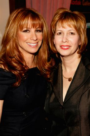 Jill Zarin (left) and Lisa Wexler in 2009
