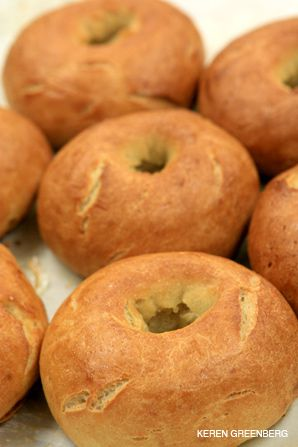 Culinary Challenge: Bagels are among the goods at the Los Angeles bakery.
