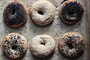 The perfect bagel awaits you ? in your kitchen.