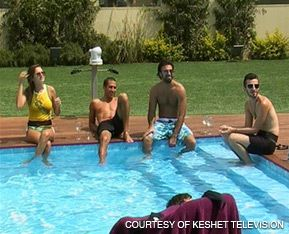 POOLSIDE ANTICS: Ratings for the season finale of the controversial Hebrew-language version of ?Big Brother? broke records.