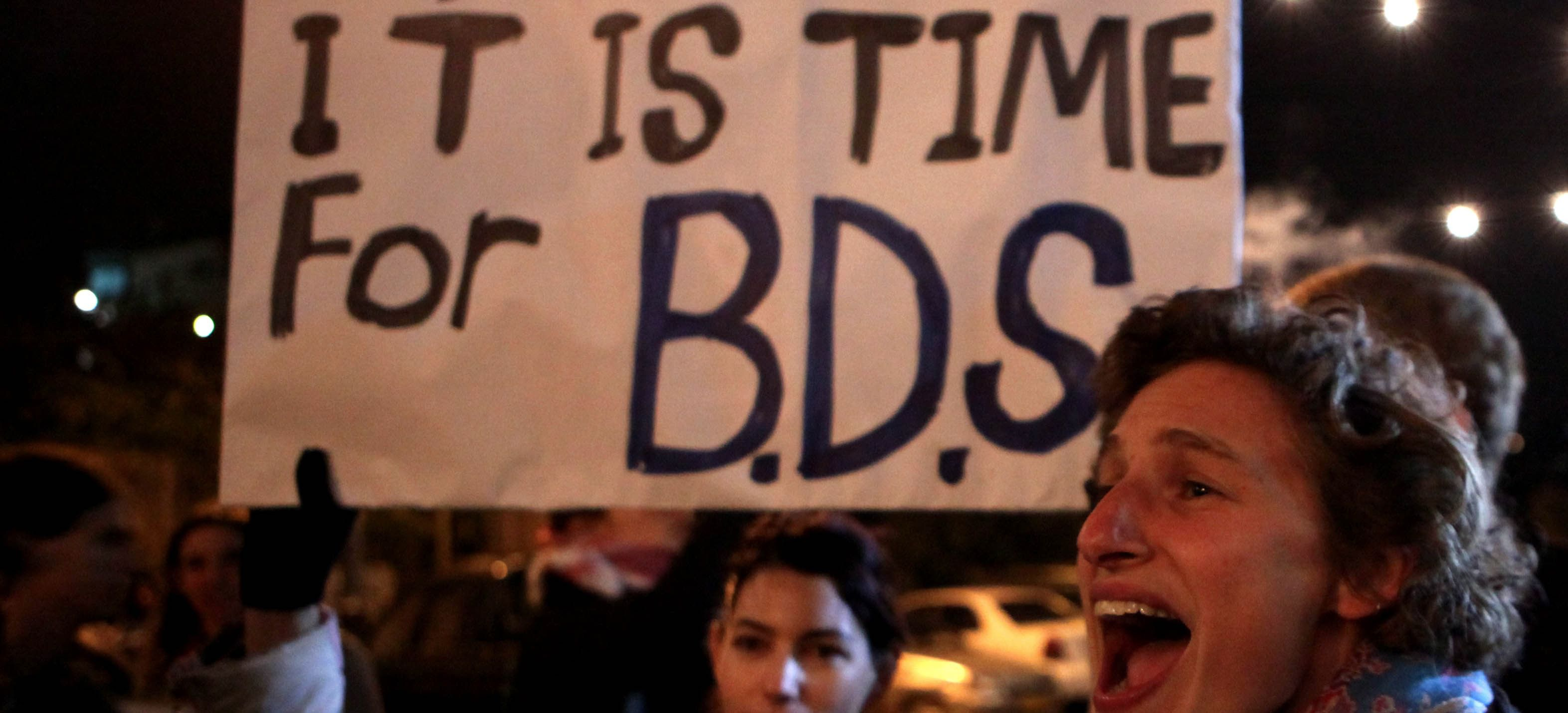 BDS Protest.