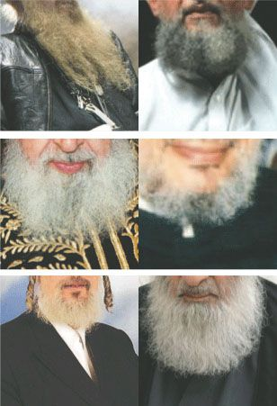 Facing Off Over Facial Hair: ?Israel Right or Wrong,? left, will face the ?Wahhabi Warriors.?