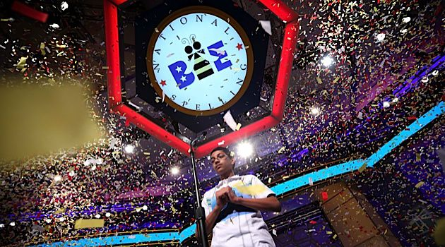 Winner: Arvind Mahankali, 13, of Bayside Hills, N.Y., won the National Spelling Bee with ?Knaidel.?