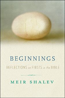 BEGINNINGS: REFLECTIONS ON THE BIBLE?S INTRIGUING FIRSTS, By Meir Shalev, translated by Stuart Schoffman