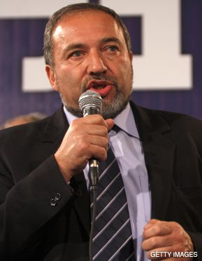 KINGMAKER: Avigdor Lieberman, head of Yisrael Beiteinu, advocates mandatory state loyalty oaths aimed at Israeli Arabs.