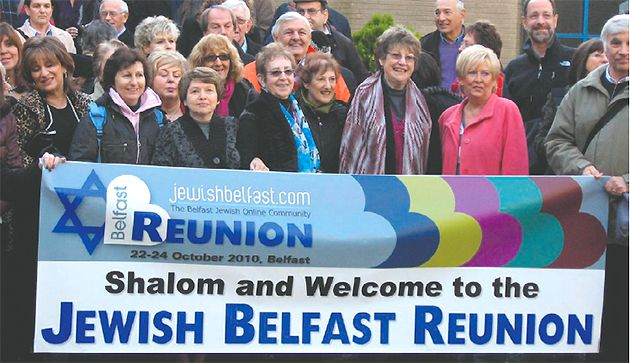 ?Anything Is Possible?: A reunion of Jews who once lived in Belfast is one of several activities aimed at resurrecting the city?s Jewish community, which has declined to 80 members from 2,000.