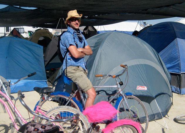 Burning Man: The Wandering Jew met Satmar Hasidim from Williamsburg at the Burning Man festival in the Nevada desert.