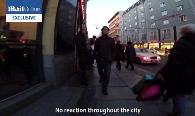Strolling: Goldmann's walk through him through the many neighborhoods of Berlin.