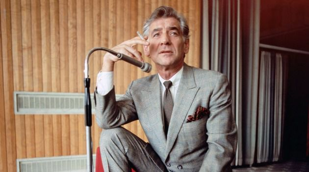 Smoke Gets in Your Eyes: Leonard Bernstein (seen here in 1970), suffered from chronic emphysema. He passed away in 1990 at the age of 72.