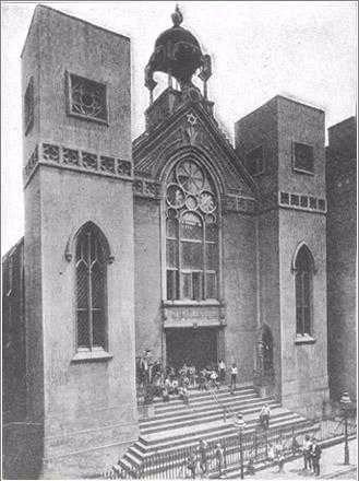 Beth Hamedrash Hagadol in the early 1900s.