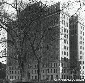 HEALING POWERS: Manhattan?s Beth Israel Hospial, in 1928.