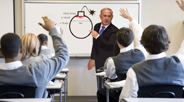 Bibi's Da Bomb:Glencampbell students were unconcered about Iran's nuclear