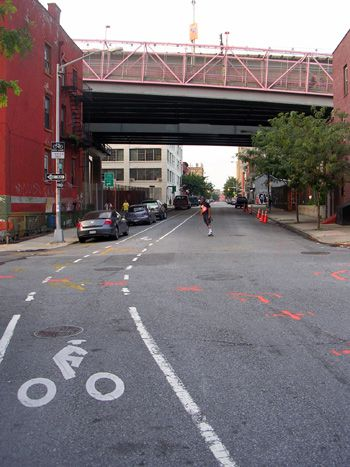 Streetscape: A proposal to create more bicycle lanes in Williamsburg has created tension between two groups of local residents ? Satmar Hasidim and New York hispsters.
