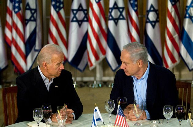 Face to Face: Vice President Joseph Biden and Prime Minister Benjamin Netanyahu dined in Jerusalem March 9.