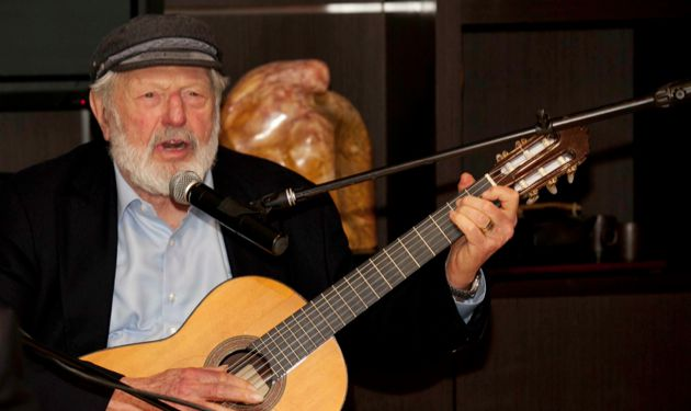 Ousting Tevye: There is a challenge to the liberal Zionist list led byTheodore Bikel.