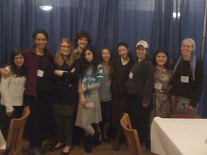 Binah Middle-Schoolers at the Hazon Food Conference